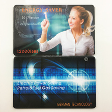 PVC plastic card and 36 layers negative ion Scalar energy saver card