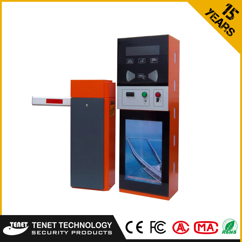TENET Parking Access Control Entrance Exit Ticket Vending Machine with loop detector ,controller ,card reader