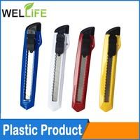 Long Retractable Razor Blades ABS case pocket-size utility knife