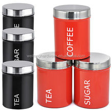Eco-friendly new food grade fresh keeping galvanized kitchen containers/metal canisters/stainless steel kitchen lid