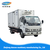 Multifunctional Meat transport truck body / refrigerated truck body