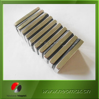 Permanent rare earth magnetic material of neodymium ndfeb magnet for sale