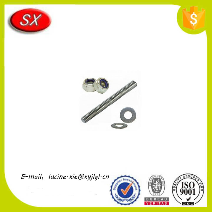 China factory CNC Part high precision internal square threaded rod and nut