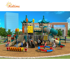 Entertainment Equipment Metal Outdoor Plastic Playground Slide For Sale