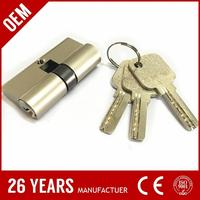 competitive price oxidize aluminium 35mm kale door lock with low price