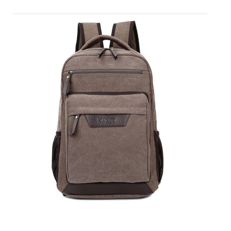 High Quality Cheap Fashionable Durable Custom Canvas Men Backpack