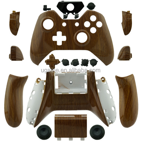 For Xbox One Custom Hydro Dipped WOODGRAIN Controller Shell Parts wood
