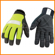 Safety Lime Utility Work Gloves