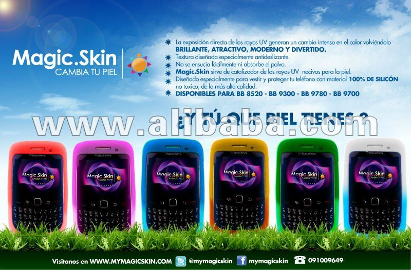 Magicskin UV Change color silicon case