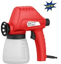 JS 2014 hot sale Paint Bullet quality house hold paint tool 110W JS-982PQ spray gun