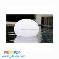 Solar power illuminated led floating pool ball light outdoor garden led ball light