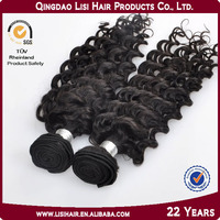 Natural Virgin Unprocessed Tangle and Shedding Free 100% brazilian hair clip-on hair extension