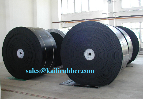 mine,stone,sand cement fabric Nylon NN EP CC56 TC70 steel cord black rubber conveyor belt / belt conveyor