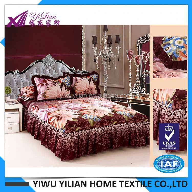 Newest sale trendy style european bed linen with good offer