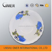 porcelain with beautiful decal and cheap price salad bowl