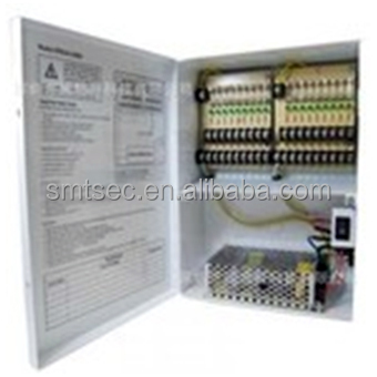 SA-AP1218-10F DC12V 10A Output 16CH Power Supply Box Glass Fuse For CCTV Camera/LED Centralized Power Supply