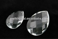 wholesale almond-shaped crystals for chandelier parts