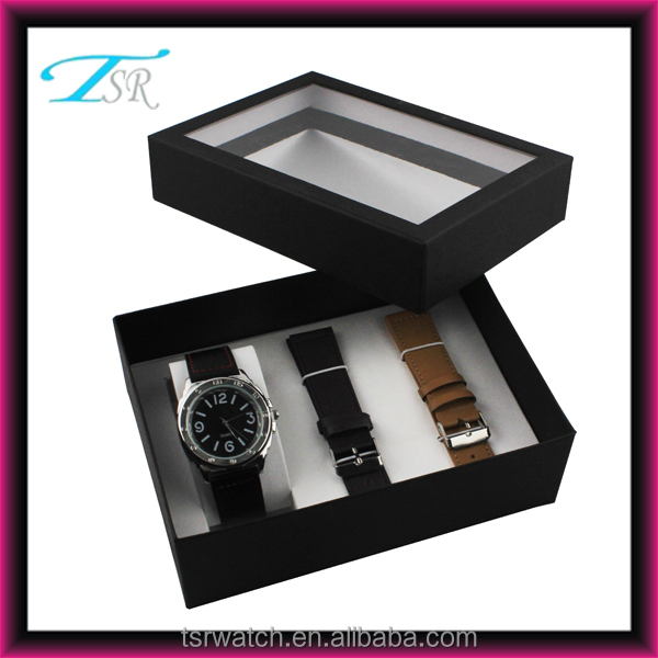 Watch manufacturer direct supply interchangeable watch set, watch top selling