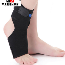 Healthcare OK fabric neoprene ankle massage band with magnets