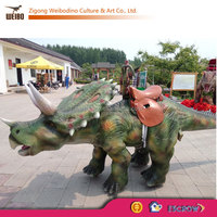 Moving Dinosaurs for Outdoor Playground