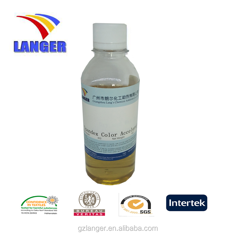 Textile agent dyeing chemical additives Spandex color accelerator LA-PA1