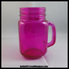 /product-gs/custom-16oz-colored-glass-mason-jar-beverage-cups-drink-cup-with-handle-and-lid-60190677927.html