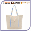 2016 Natural Color Canvas Tote Bag for Shopping