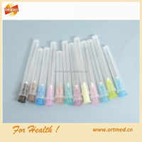 18G pink disposable sterile hypodermic needle