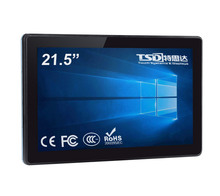 "21.5"" touch screen competitive capacitive rear mount touch monitor for public kiosk machine, VGA+DVI port, 3 yeas warranty"