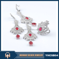factory 925 sterling silver wholesale gemstone jewelry