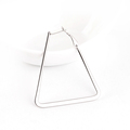 Manufacturer ear piercing hoops triangle earrings daith piercing jewelry