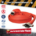 Strong style red color PVC lining 1.5 inch water hose for garden use
