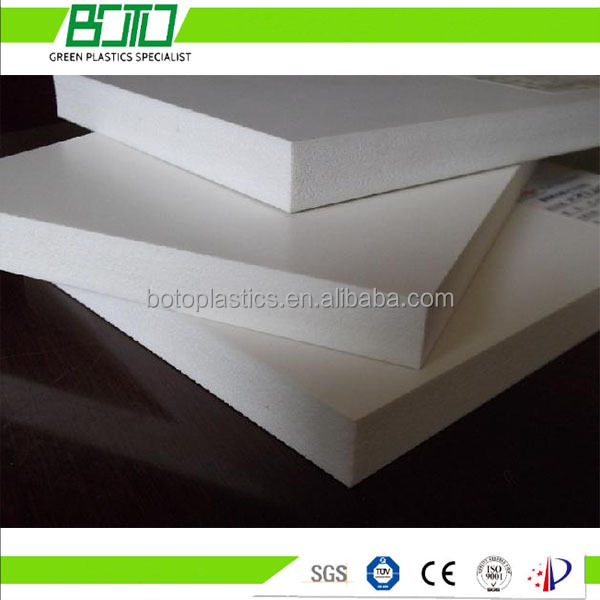 white advertising foam sheet pvc sun board free foam sheet