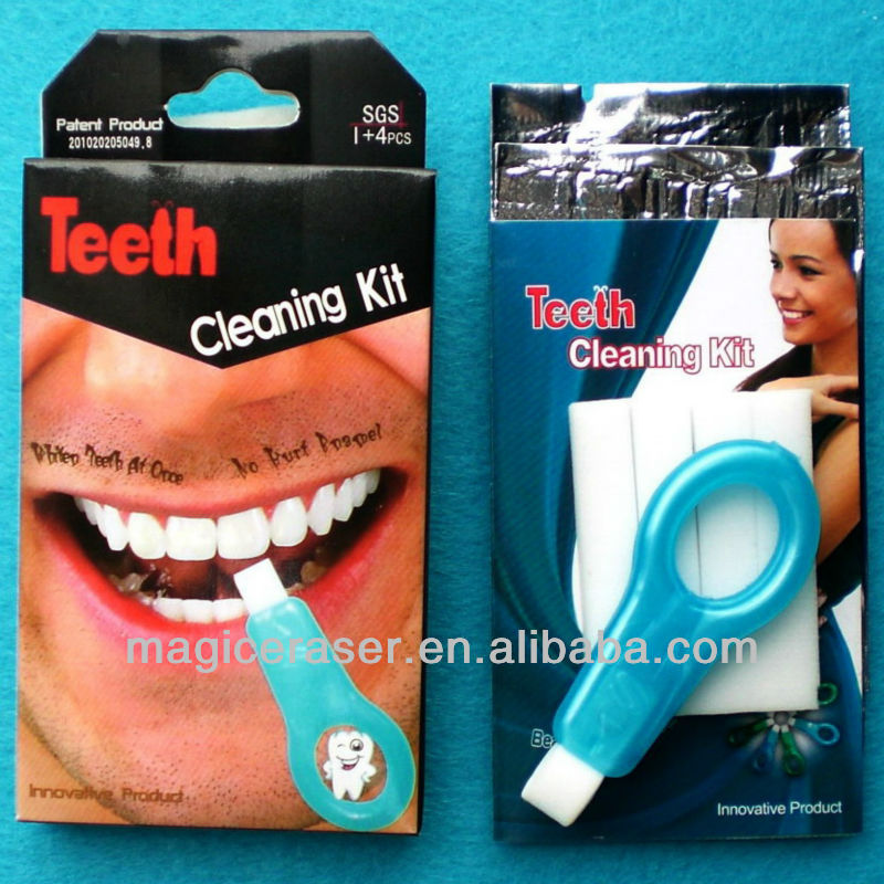 Export Items of Pakistan,Magic Teeth Cleaning Kit,No Chemicals,Exclusive Patent