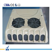 DC 24v /12v roof top mounted truck cabin air conditioning system for van, truck, car, engineering vehicle