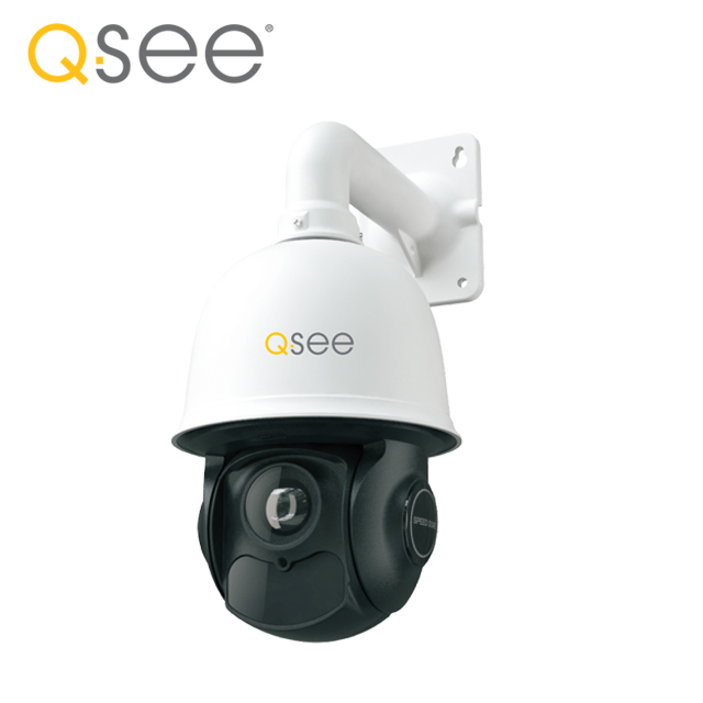 Q-SEE outdoor long range ir onvif 360 degree rotating cctv auto tracking speed dome 1080p pan tilt zoom ptz ip camera