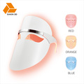 certified product led facial mask red blue orange light therapy skin care homemade beauty siken3d 18years factory support oem