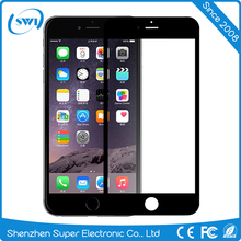 Easy to install 2.5d mobile phone 9h tempered glass screen protector for iphone 6 plus