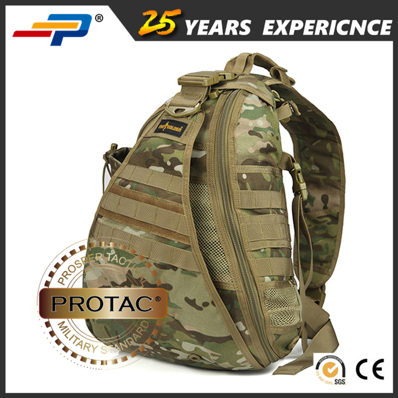 Hot Sale Unisex Casual Nylon Military Shoulder Sling Bag