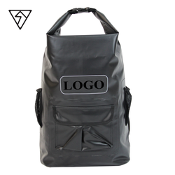 20L OUTDOOR CAMPING WATER SPORTS CUSTOM LOGO PVC WATERPROOF DRY BACKPACK BAG