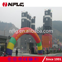 NFLG factory derict sell mobile concrete batching plant for sale
