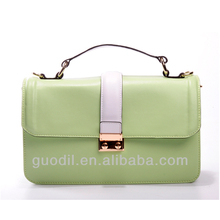 2017 vintage leather women messenger green bag In China For GUODI