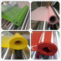 Factory Outlet 2mm color thin silicone rubber sheet