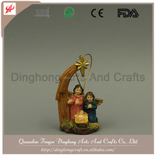 Resin Crafts Unique Home Decorations Antique Nativity Figures