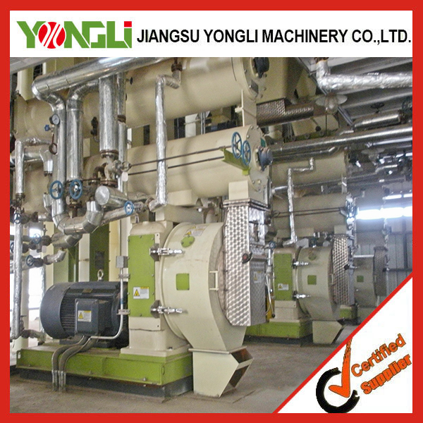 Reasonable price 2-12mm feed production line/chicken feed making machine