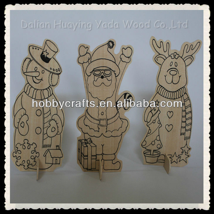 Wood Animal Shapes for DIY Crafts & Gifts Kits