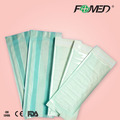 Medical sterilization self sealing pouch with full size