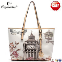 2014 Big Ben Illustration fashion lady bag landbags ladies handbags