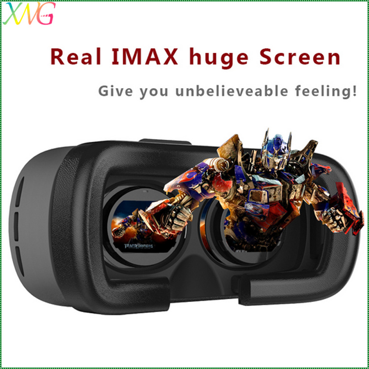 wholesale portable plastic version 3d glasses box google cardboard vr viewer