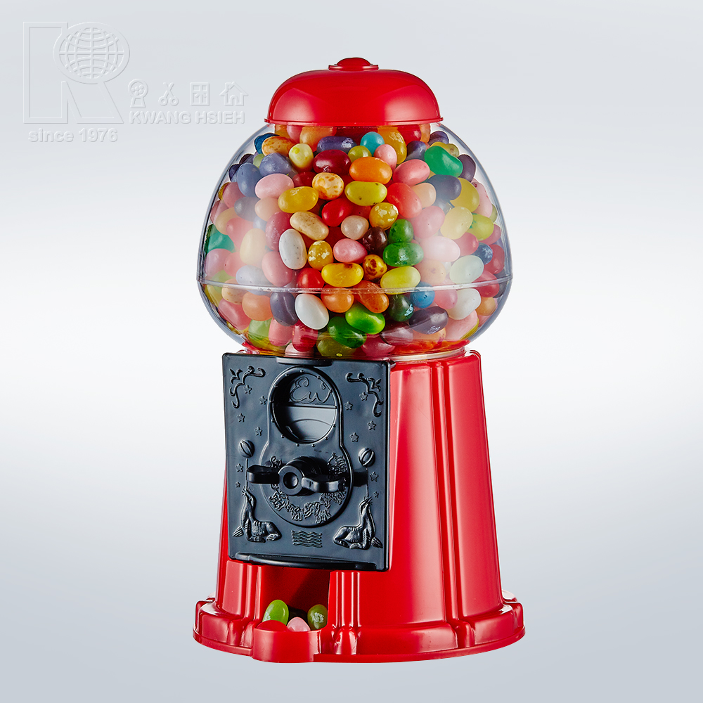 Kwang Hsieh Classic 9 Inch Plastic Cheap Gumball Machine Candy Toy